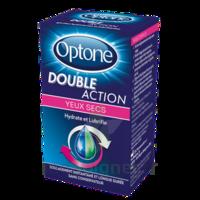 OPTONE DOUBLE ACTION Solution oculaire yeux secs Fl/10ml à NAVENNE