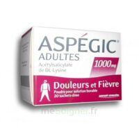 ASPEGIC ADULTES 1000 mg, poudre pour solution buvable en sachet-dose 20 à NAVENNE