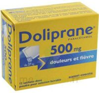 Doliprane 500 Mg Poudre Pour Solution Buvable En Sachet-dose B/12 à NAVENNE