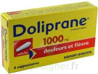 DOLIPRANE 1000 mg Suppositoires adulte 2Plq/4 (8) à NAVENNE