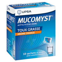 Mucomyst 200 Mg Poudre Pour Solution Buvable En Sachet B/18 à NAVENNE