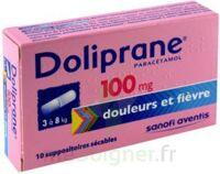 Doliprane 100 Mg Suppositoires Sécables 2plq/5 (10) à NAVENNE