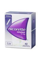 NICORETTE INHALEUR 10 mg Cartouche p inh bucc inhalation buccale B/42 à NAVENNE
