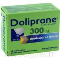 Doliprane 300 Mg Poudre Pour Solution Buvable En Sachet-dose B/12 à NAVENNE
