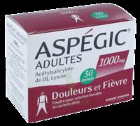 ASPEGIC ADULTES 1000 mg, poudre pour solution buvable en sachet-dose 30 à NAVENNE