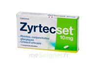 ZYRTECSET 10 mg, comprimé pelliculé sécable à NAVENNE