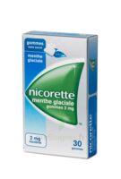 NICORETTE 2 mg Gom à mâcher médic sans sucre menthe glaciale Plq/30gom à NAVENNE