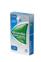 NICORETTE 4 mg Gom à mâcher médic sans sucre menthe glaciale Plq/30gom à NAVENNE