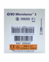 Bd Microlance 3, G25 5/8, 0,5 Mm X 16 Mm, Orange  à NAVENNE