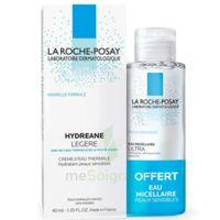 Hydreane Légère Crème Hydratante Peau Normale à Mixte 40ml+eau Micellaire 50ml à NAVENNE