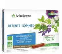 Arkofluide Bio Ultraextract Solution buvable détente sommeil 20 Ampoules/10ml à NAVENNE