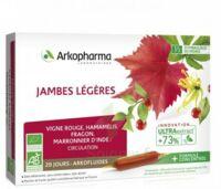 Arkofluide Bio Ultraextract Solution buvable jambes légères 20 Ampoules/10ml à NAVENNE