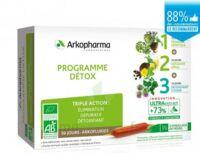 Arkofluide Bio Ultraextract Coffret programme détox 3x10 Ampoules/10ml à NAVENNE