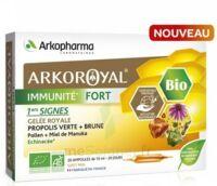 Arkoroyal Immunité Fort Solution Buvable 20 Ampoules/10ml à NAVENNE