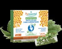 Puressentiel Respiratoire Pastilles Respiratoire aux 3 miels aromatiques - 18 pastilles à NAVENNE