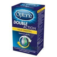 Optone Double Action Solution Oculaire Yeux Irrités Fl/10ml à NAVENNE