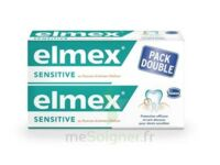 ELMEX SENSITIVE DENTIFRICE, tube 75 ml, pack 2 à NAVENNE