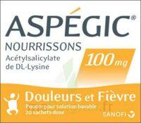 ASPEGIC NOURRISSONS 100 mg, poudre pour solution buvable en sachet-dose à NAVENNE