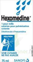 HEXOMEDINE 1 POUR MILLE, solution pour pulvérisation cutanée en flacon pressurisé à NAVENNE