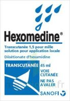 HEXOMEDINE TRANSCUTANEE 1,5 POUR MILLE, solution pour application locale à NAVENNE