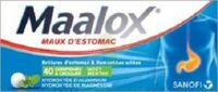 Maalox Hydroxyde D'aluminium/hydroxyde De Magnesium 400 Mg/400 Mg Cpr à Croquer Maux D'estomac Plq/40 à NAVENNE