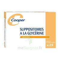 SUPPOSITOIRES A LA GLYCERINE COOPER Suppos en récipient multidose adulte Sach/25 à NAVENNE