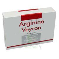 ARGININE VEYRON, solution buvable en ampoule à NAVENNE