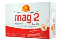 MAG 2 122 mg S buv en ampoule sans sucre édulcoré à la saccharine sodique 30Amp/10ml à NAVENNE