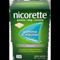 NICORETTE 2 mg Gom à mâcher médic sans sucre menthe fraîche Plq/105gom à NAVENNE
