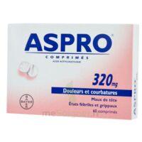 ASPRO 320 mg, comprimé à NAVENNE