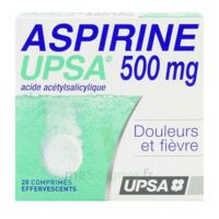 ASPIRINE UPSA 500 mg, comprimé effervescent à NAVENNE