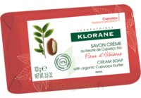 Klorane Savon crème au beurre de cupuaçu et à la fleur d'hibiscus à NAVENNE