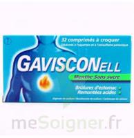 Gavisconell Coprimés à Croquer Sans Sucre Menthe édulcoré à L'aspartam Et à L'acésulfame Potas Plq/24 à NAVENNE