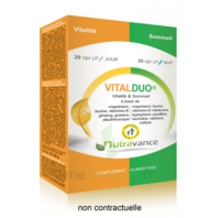 Nutravance Vitalduo 20+20 comprimés à NAVENNE