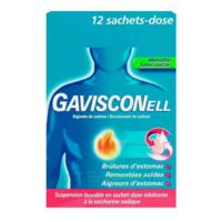 GAVISCONELL Suspension buvable sachet-dose menthe sans sucre 12Sach/10ml à NAVENNE