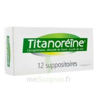 TITANOREINE Suppositoires B/12 à NAVENNE