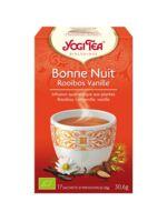 Yogi Tea Bonne Nuit Rooibos Vanille à NAVENNE