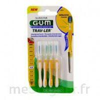 GUM TRAV - LER, 1,3 mm, manche jaune , blister 4 à NAVENNE