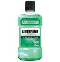 Listerine Protection Dents Gencives Bain bouche goût plus léger Fl/500ml à NAVENNE