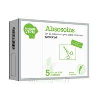 ABSOSOINS Set pans Plaies Chroniques Standard – Bt de 5 à NAVENNE