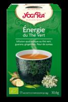 Yogi Tea Thé énergie Du Thé Vert Bio 17 Sachets à NAVENNE