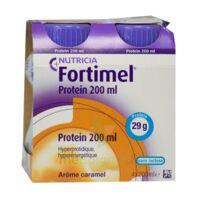 Fortimel Protein Nutriment Caramel 4 Bouteilles/200ml