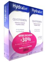 Hydralin Quotidien Gel lavant usage intime 2*200ml à NAVENNE