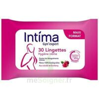 Intima Gyn'expert Lingettes Cranberry Paquet/30 à NAVENNE