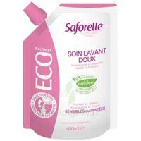 Saforelle Solution Soin Lavant Doux Eco-recharge/400ml à NAVENNE