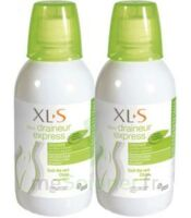 XL-S Draineur Express Solution buvable Thé vert citron 2*500ml à NAVENNE