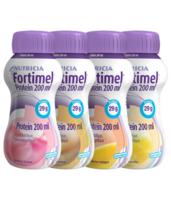 Fortimel Protein Nutriment multi saveurs caramel/vanille/fraise/mangue 4 Bouteilles/200ml à NAVENNE