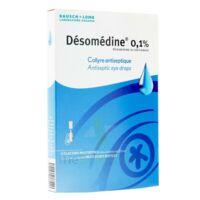 DESOMEDINE 0,1 % Collyre sol 10Fl/0,6ml à NAVENNE
