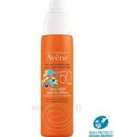 Avène Eau Thermale Solaire Spray Enfant 50+ 200ml à NAVENNE