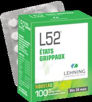 Lehning L52 Comprimés Orodispersibles Plq Pvc/pvdc/alu/100 à NAVENNE
